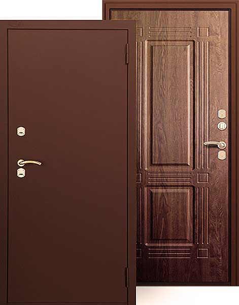 морозостойкие стальные двери